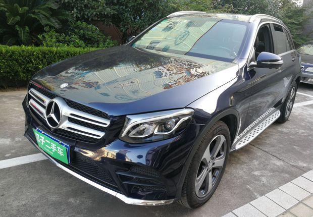 奔驰GLC GLC260 2017款 2.0T 自动 豪华型 (国Ⅴ)