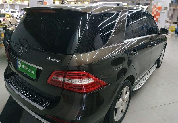 奔驰M级 ML400 [进口] 2015款 3.0T 自动 汽油 豪华型 (欧Ⅳ)