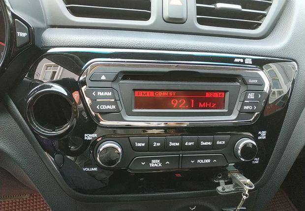起亚K2 2012款 1.4L 自动 4门5座三厢车 GLS (国Ⅳ)