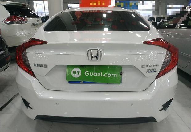 本田思域 2016款 1.5T 自动 豪华版220TURBO (国Ⅴ)